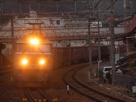 EF510貨物 東海道本線石山駅