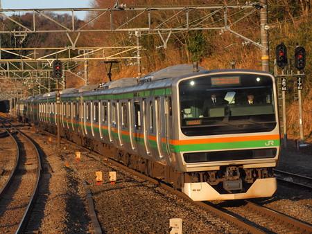 E231系普通 東海道本線函南駅