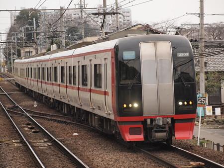 名鉄2200系快速特急 名鉄犬山線犬山遊園駅