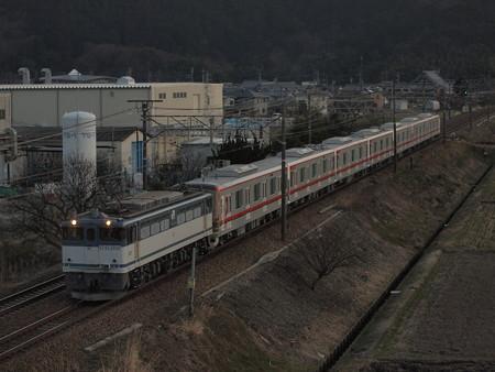 EF65 東武70000系甲種 東海道本線安土~能登川01