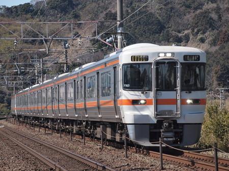 313系特別快速 東海道本線三河三谷~三河大塚02