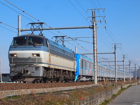 EF66 メトロ15000系甲種 東海道本線岐阜~木曽川02