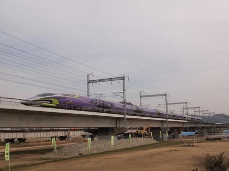 500系TYPE EVA こだま 山陽新幹線西明石駅~姫路