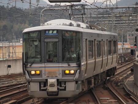 223系普通 山陰本線福知山駅