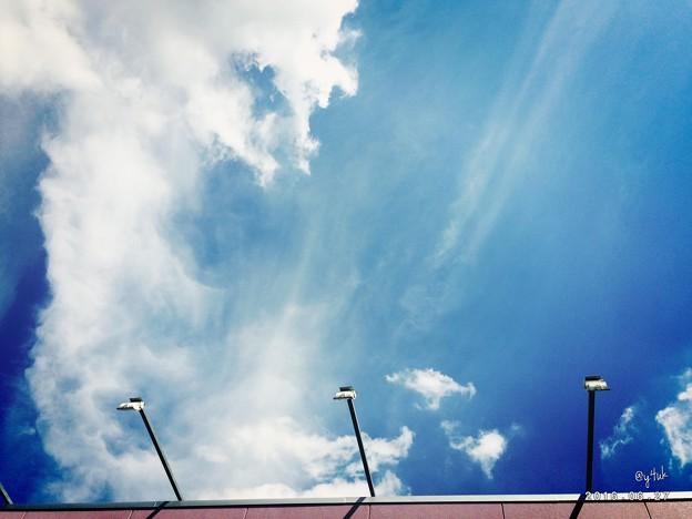 Photos: The blue sky of Shimamura ~梅雨の晴れ間にGo