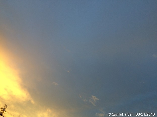 Photos: 台風一過18:19夕空 ~sunset sky