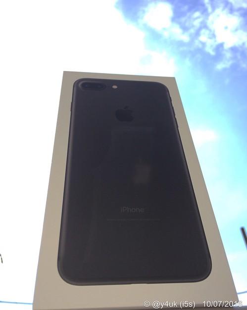 秋晴れの下で記念撮影 ~Start up! iPhone 7 Plus, Black, 128GB, SIMfree