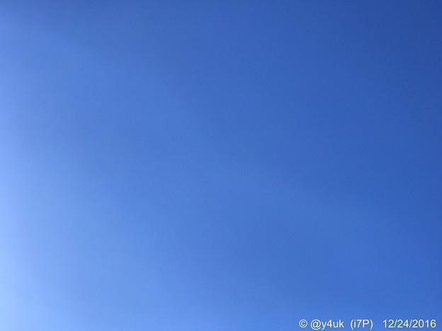 Photos: XmasEveの青空 ~12.24同じ空の下