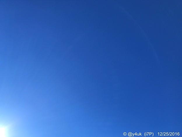 Photos: Xmasの青空 ~12.25同じ空の下