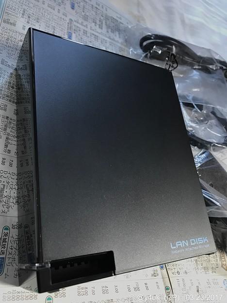 初めてのNASは小さくて ~LAN DISK HDL-AA [Dual Core]