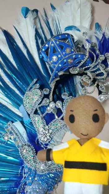 明日はテニフェス初日だけれど…年内最後のサンバパレードがあるので...