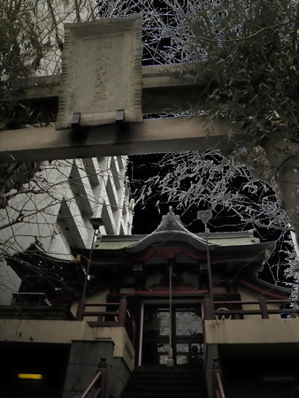 目黒駅周辺-12誕生八幡神社-01
