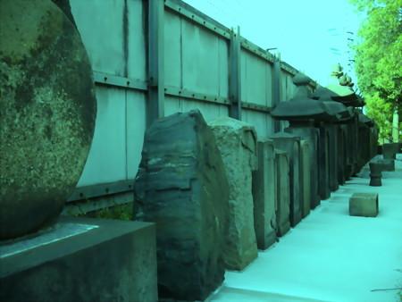 東海寺大山墓地-09_細川家家臣およびその一族の墳墓地a(3)