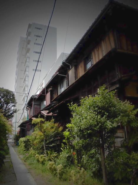 しながわ百景_北品川の古い民家の家並み(界隈)-04