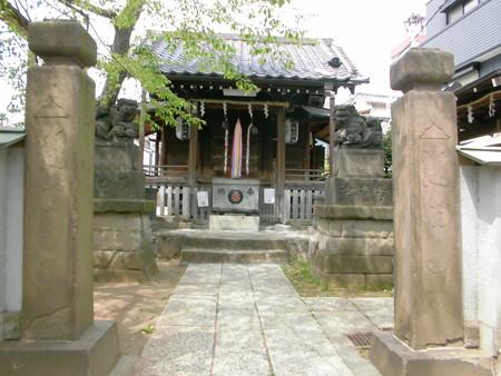 東品川_利田神社(かがたじんじゃ)-02