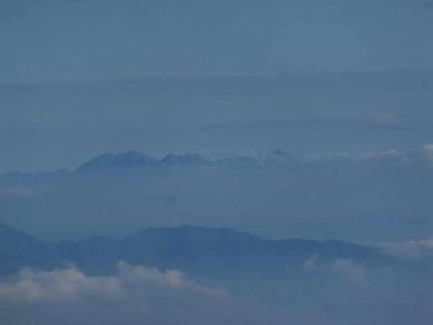 槍ヶ岳と穂高連峰