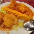 四五六菜館のエビマヨとエビチリ