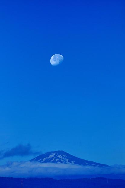 ブルー鳥海山・・縦