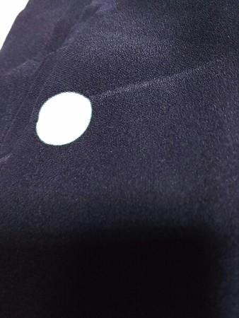 黒紋付用反物 送料込み1100円