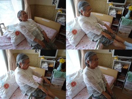 83歳腹筋運動