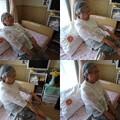 写真: 83歳腹筋運動