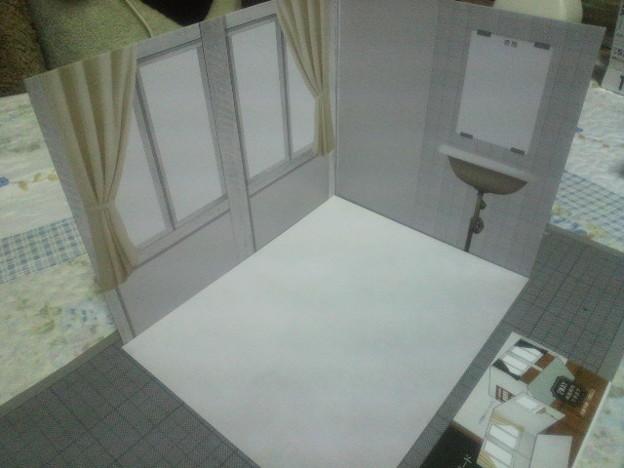キャンドゥウッドクラフト背景ボード 特別教室 保健室/理科室 保健室
