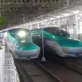 写真: 東北新幹線~仙台