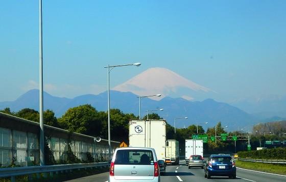 東名からの富士山