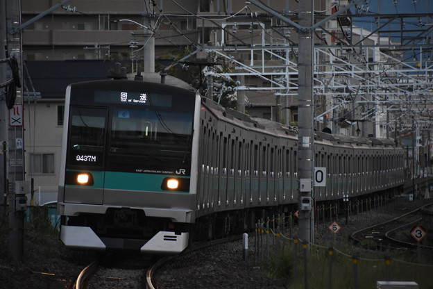 E233系長野入場