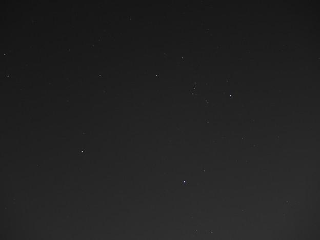 冬の夜空(170126)