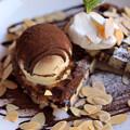 チョコレートワッフル♪