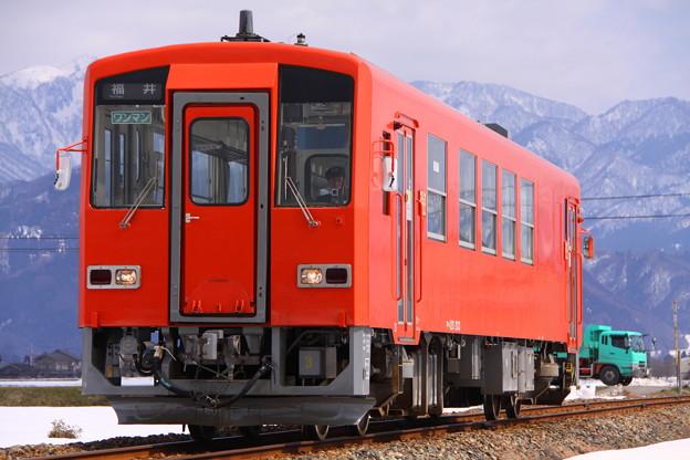 越美北線 普通 728D 福井行き
