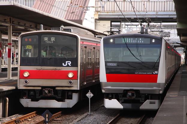 京葉線 205系 普通 & E233系 快速