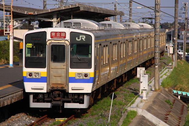 普通 655M 成東行き 211系