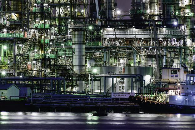 石油コンビナート (2)
