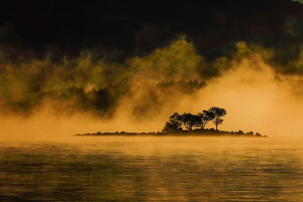 写真: 幻霧