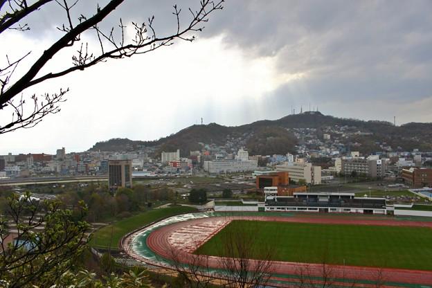 室蘭・入江運動公園にて (9)