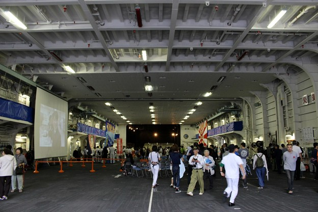 護衛艦「いせ」一般公開 (10)