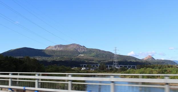 有珠山と昭和新山 (1)