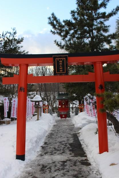 参拝 樽前山神社 (2)
