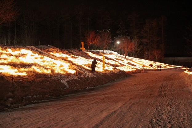 雪原に燈るランタン (8)