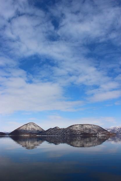 湖と島と空 (3)