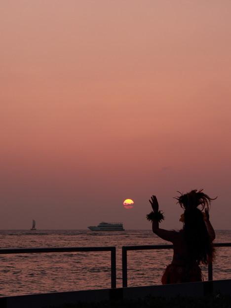 写真: sunset