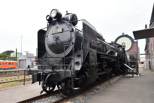 Photos: D51 146(公式側)