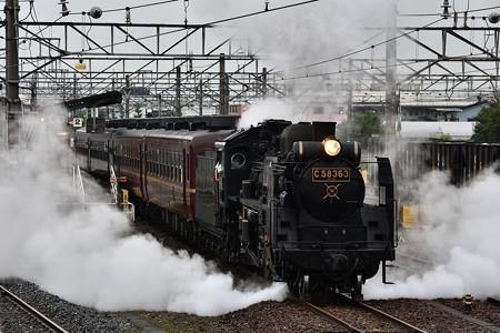 C58 363武川発車