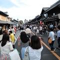 Photos: 蔵造りの町並みも大混雑