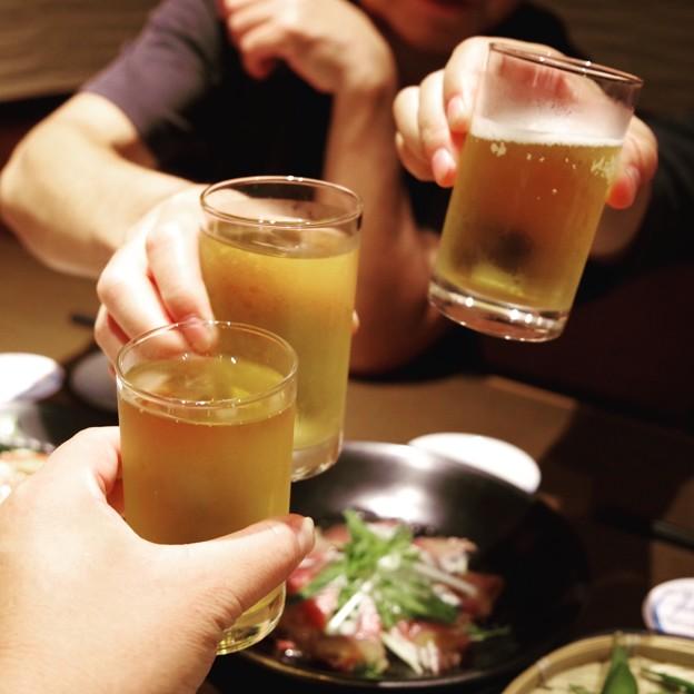 飲み放題の乾杯