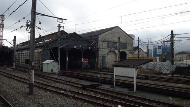 八王子駅機関庫
