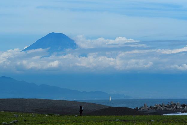 富士に対峙する1
