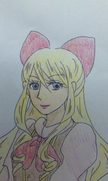 写真: オリキャラ。桜景子ちゃん。...